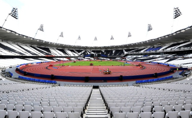 The revamped Olympic Stadium in London is one of 13 venues to be used during Rugby World Cup 2015 © Getty Images