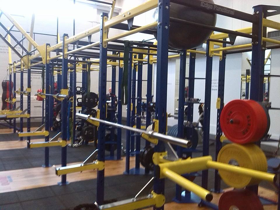 The strength and conditioning centre at the British Judo Centre of Excellence