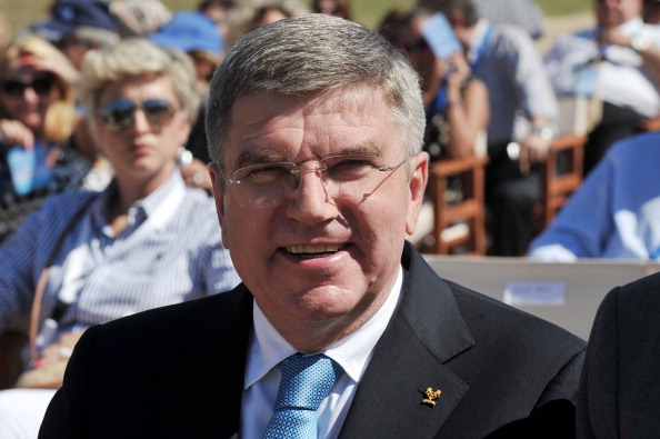 Thomas Bach has been named International Sports Figure of 2013 as part of the Mohammed Bin Rashid Al Maktoum Creative Sports Awards ©AFP/Getty Images