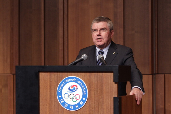 Thomas Bach has made his first official visit to South Korea as IOC President ©Getty Images