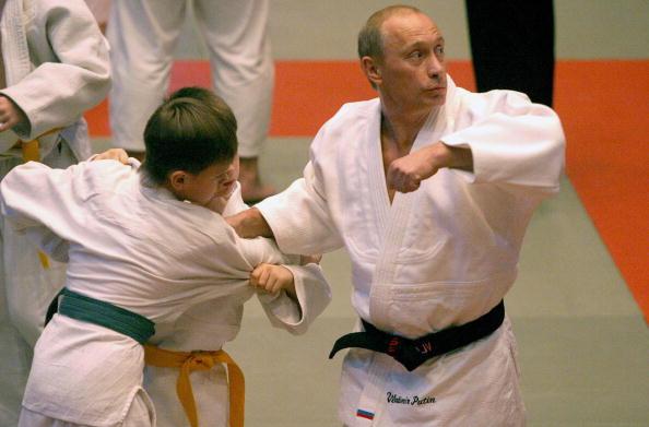 Putin Awarded Honorary Black Belt In Recognition Of Taekwondo Development In Russia