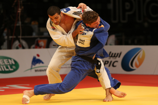 Walter Facente of Italy won the fight of the day in the under 90kg division ©IJF