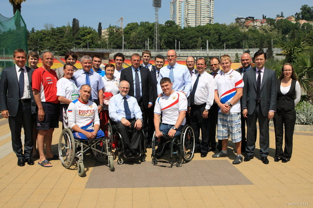 When visiting Sochi Sir Philip was confident that necessary improvements regarding barrier access have been made