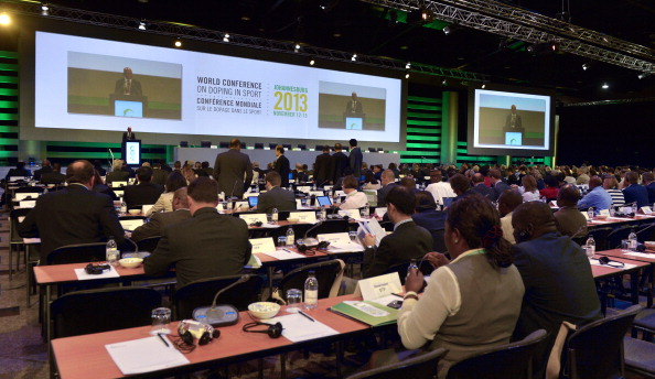 A WADA Disciplinary Commission had recommended that the Moscow anti-doping laboratory be suspended following a report presented at the World Conference on Doping in Sport in Johannesburg @AFP/Getty Images