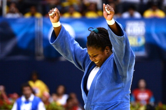 World and Olympic champion Idalys Ortiz of Cuba will be looking to better her silver medal in Tokyo last year © Getty Images