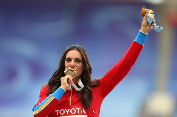 Yelena Isinbayeva was one of the stars of the World Championships and is helping to inspire more interest in the sport