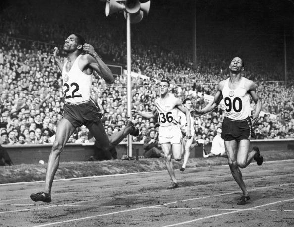 Arthur Wint claimed Jamaica's first-ever Olympic gold medal when he won the 400 metres on the country's debut at London 1948 ©Keystone/Getty Images