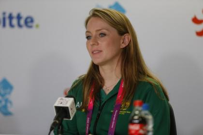 Kate McLoughlin  has stepped down as Australia's Chef de Mission for Sochi 2014