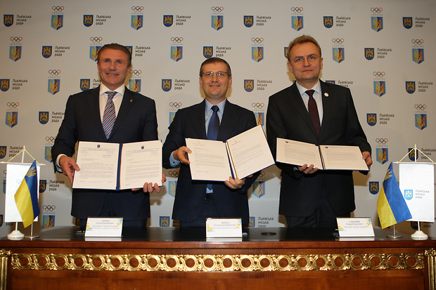 Lviv will bid for the 2022 Winter Olympics and Paralympics after a letter of declaration was signed by the National Olympic Committee of Ukraine and the City Council