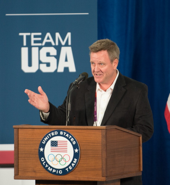 Scott Blackmun has signed a new three-year contract as chief executive of the United States Olympic Committee