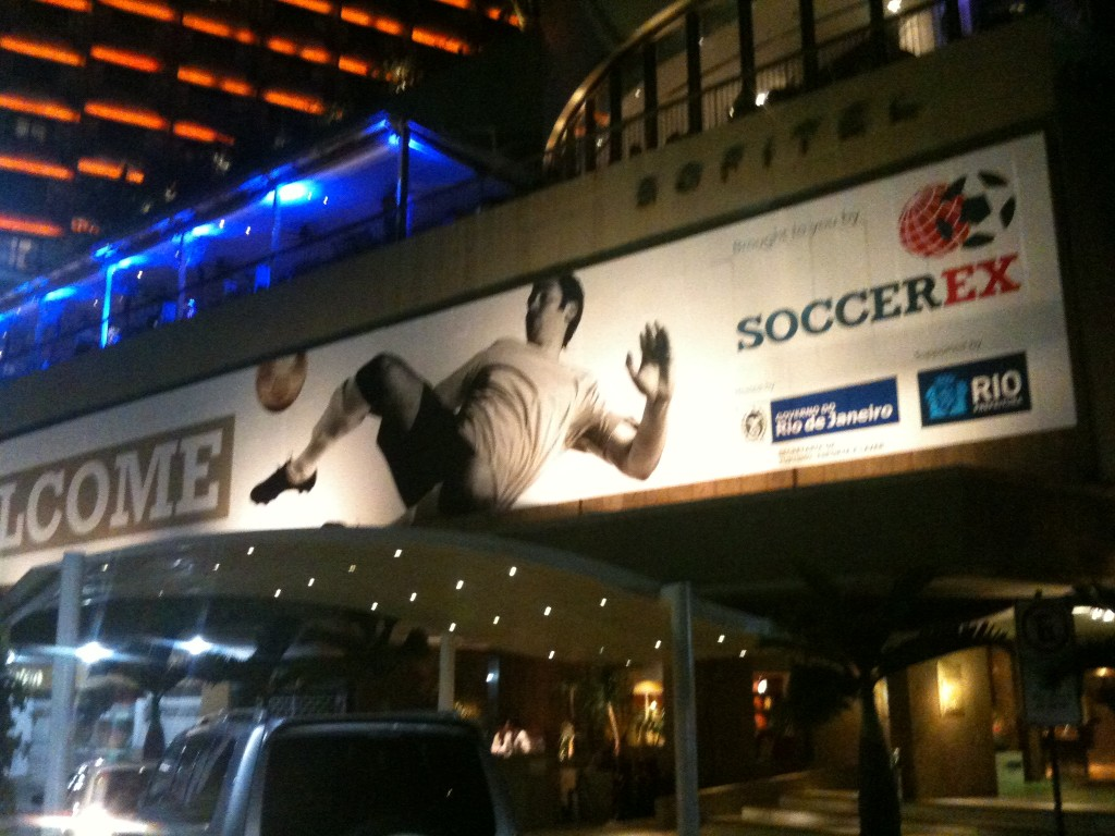 It was anticipated that 4,500 of football's most influential decision makers will attend this year's Soccerex Global Convention in Rio de Janeiro