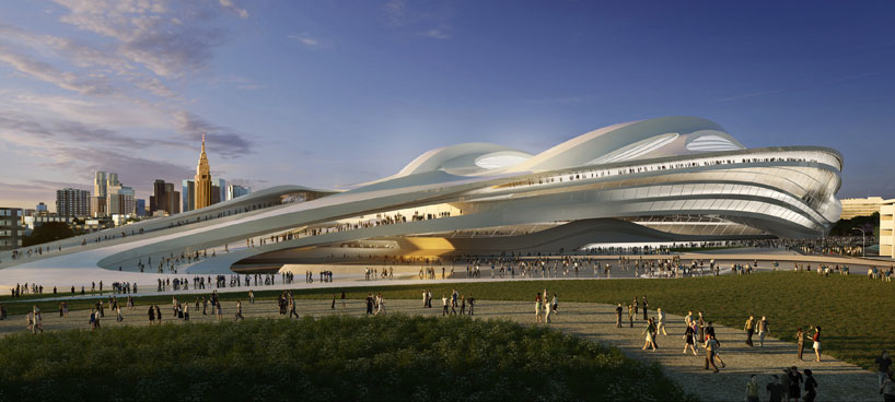 Zaha Hadid's design for the National Stadium in Tokyo has been the centre of much public debate since the proposals were proposals were publicly released