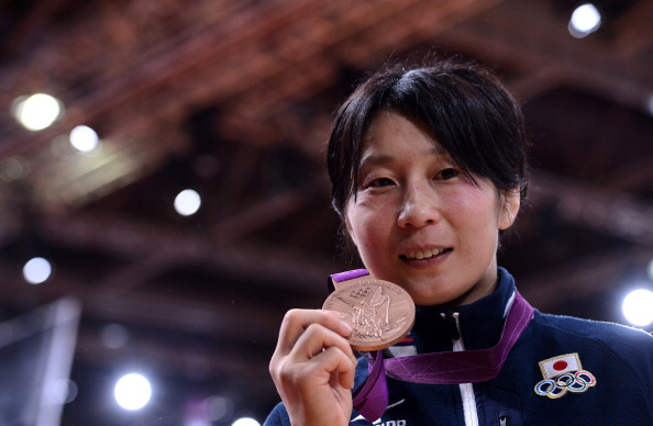 Japan's double world champion and London 2012 bronze medallist Yoshie Ueno has announced her retirement @AFP/Getty Images