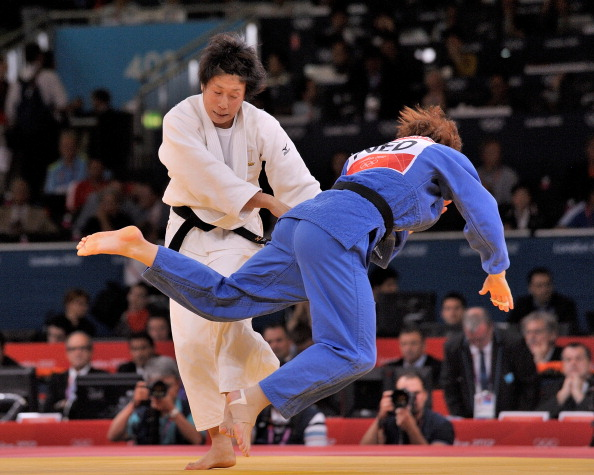 Yoshie Ueno won a bronze medal at London 2012 but did not think she could carry on until Rio 2016 @Getty Images