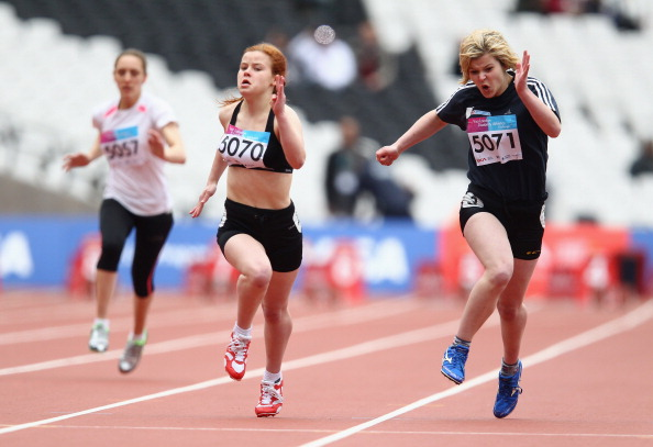 Participation in disability athletics has increased to over 120,000 since last year ©Getty Images