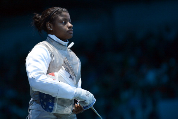 Buckie Leach currently coaches Olympian Nzingha Prescod, who won the first US women's foil gold at a Grand Prix ©Getty Images