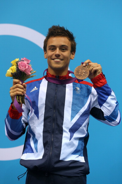 Daley won bronze in the 10m Individual Platform dive competition at London 2012 ©Getty Images