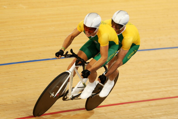 Five-time Paralympic champion Kieran Modra won gold in the one kilometre Tandem Time Trial at the Australian Para-cycling Track National Championships in Melbourne ©Getty Images