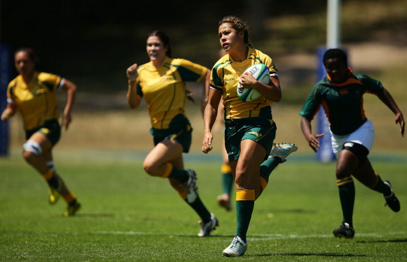 Included in the squad is Tiana Penitani, who earlier this year became Australia's youngest-ever Rugby World Cup representative at the age of 17, when she starred at the Rugby World Cup Sevens in Moscow ©Getty Images