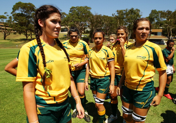 Australia's Rugby Union has selected a squad of 22 young women in preparation for the Youth Olympic Games in Nanjing next year ©Getty Images