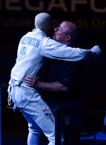 Greg Massialas coached Miles Chamley-Watson to the first US individual World Championship title in any weapon category in August ©Getty Images