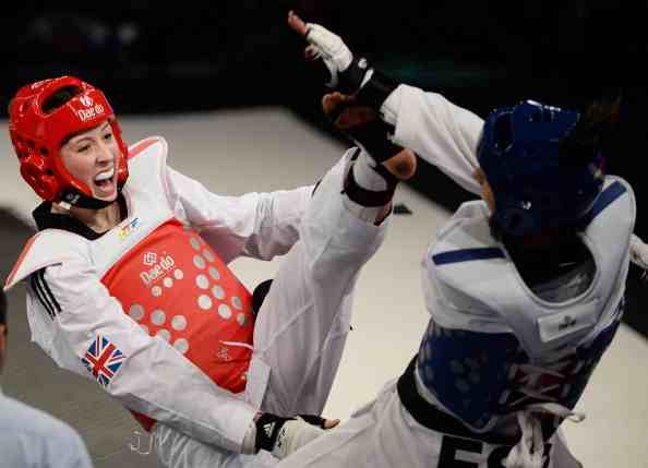 Great Britain's Jade Jones had to settle for silver in Manchester after losing 4:3 in the final of the World Taekwondo Grand Prix ©Getty Images
