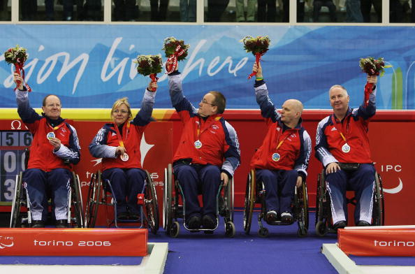 Malone was part of the GB team that won silver in the 2006 Turin Paralympic Winter Games ©Getty Images