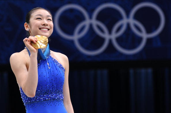 Kim is hoping to become the first figure skater to defend the Olympic title since 1988 when she competes in Sochi next year ©Getty Images