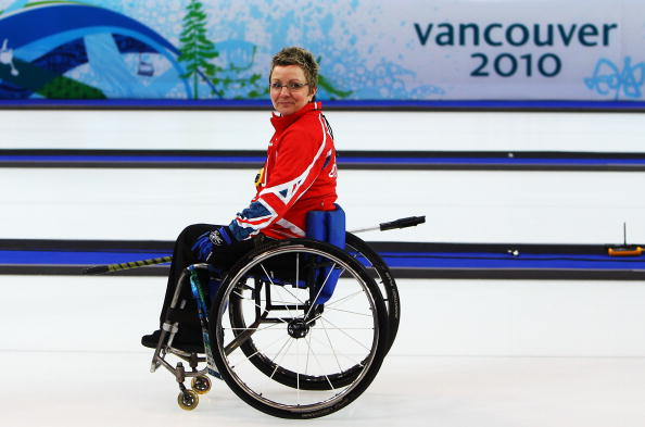 Angie Malone has been named as the final member of the GB wheelchair curling team ahead of the 2014 Sochi Winter Games ©Getty Images
