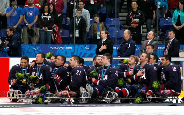 USA's 17-man Ice Sledge Hockey team has been announced ahead of Sochi 2014 ©Getty Images