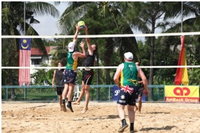 Adelaide will host the first ever Standing Beach Volleyball World Championship for men with a physical disability in 2014 ©World ParaVolley