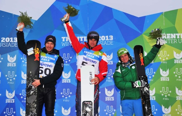 Austria's Sebastian Kislinger proved the top man at Monte Bondone  ©Daniele Mosna/Trentino 2013 Universiade
