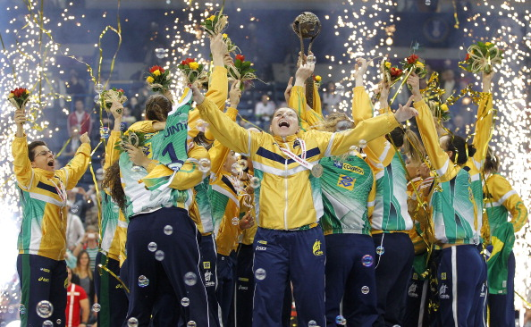 Brazil have won the 2013 Womens World Handball Championships @Getty Images