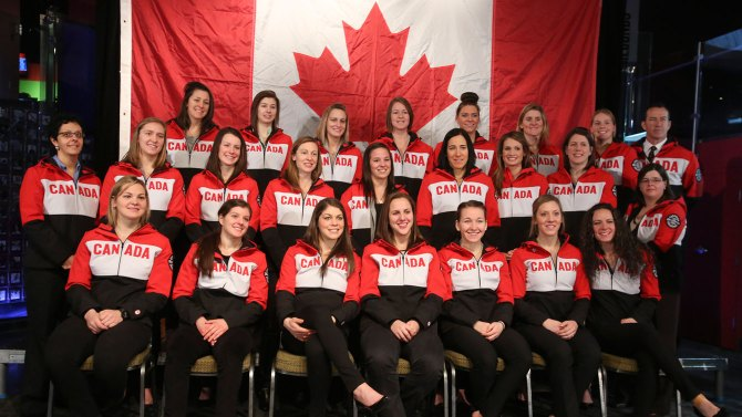 Canada has revealed the 21-strong women's ice hockey squad nominated to compete at Sochi 2014 ©Canadian Olympic Committee