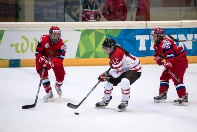 Canada made it three Universiade titles in succession today after crushing Russia in the women's final ©Enrico Pretto/Trentino 2013 Universiade