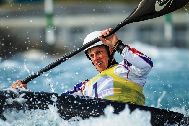 European champion Fiona Pennie is one of several to British canoeists based at the Lee Valley White Water Centre ©AEphotos/Lee Valley Park