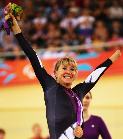 Fiona Southorn won bronze in the C5 3km individual pursuit at London 2012 ©Getty Images