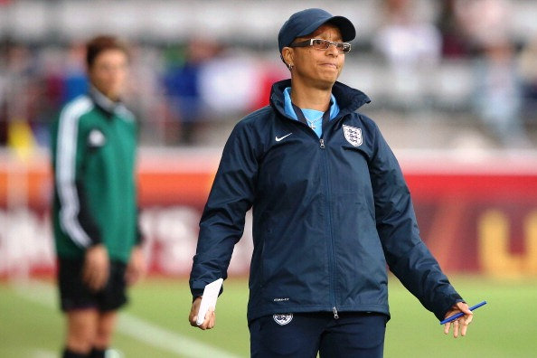 Following 15 years in the job Hope Powell is being replaced by Matt Sampson of Bristol Academy ©Getty Images