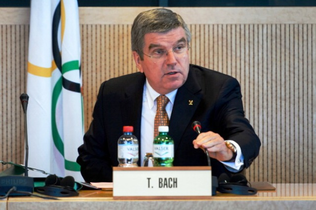 Claude-Louis Gallien claims to have some interesting proposals to put to IOC President Thomas Bach when they meet in the coming months ©AFP/Getty Images