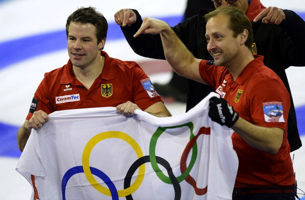Germany's men's curlers have secured a place at the Sochi 2014 Olympics ©Bongarts/Getty Images