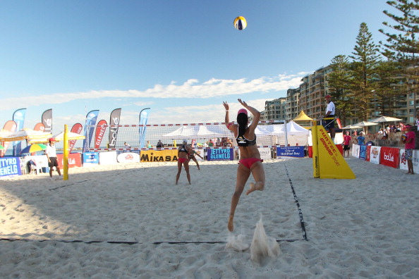Glenelg Beach, which has already staged the Australian Beach Volleyball Championships, will host the first ever Standing Beach Volleyball World Championship for men with a physical disability in 2014 ©Getty Images