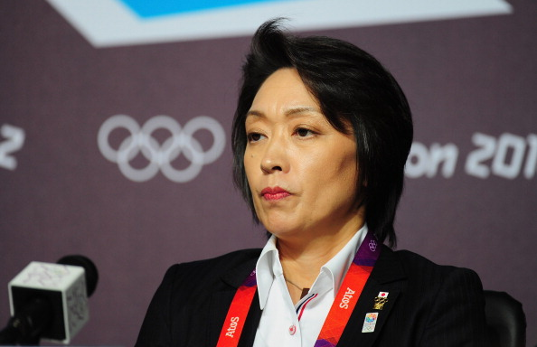 Hashimoto, speaking during the 2012 Olympic Games in London, is being touted as a candidate to be Governor of Tokyo ©Getty Images