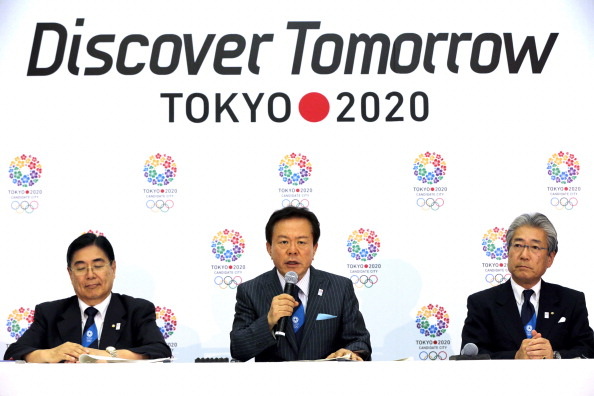 Inose had previously played a key role in Tokyo's bid to host the Olympics and Paralympics in 2020 ©Asahi Shimbun/Getty Images