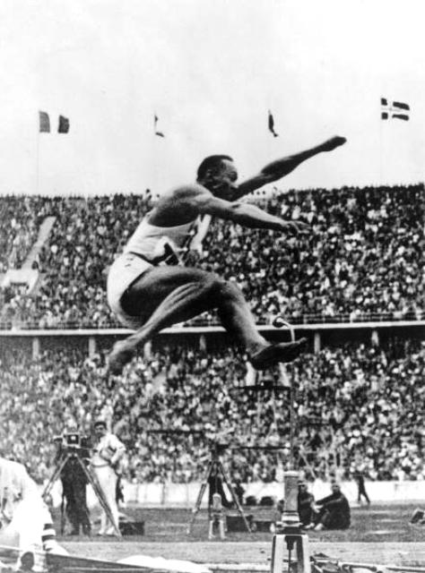 Jesse Owens claimed three track golds and a long jump gold in Berlin © Getty Images