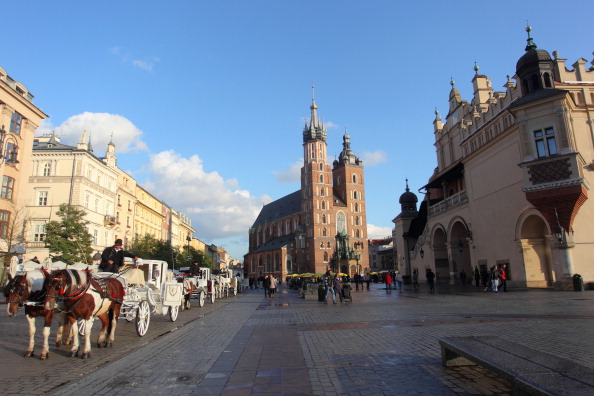 Krakow is very much the centre point of the Poland and Slovakia 2022 bid ©Getty Images
