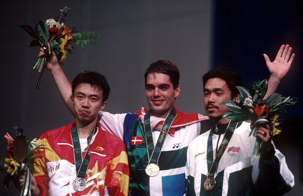 Like President Bach Hoyer is a former Olympic champion after he won the men's singles title at Atlanta 1996 ©Bongarts/Getty Images
