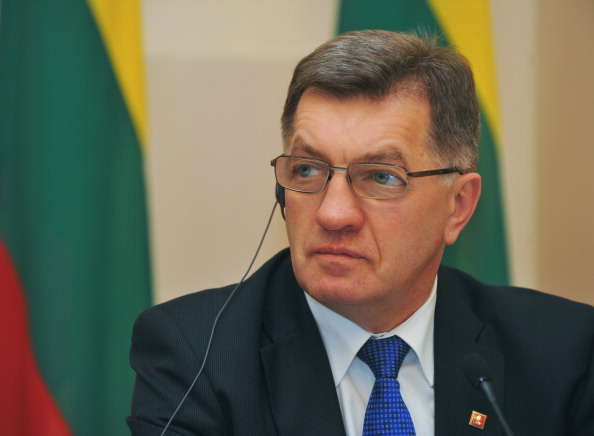Lithuanian Prime Minister Algirdas Butkevičius plans to attend the Winter Olympics in Sochi ©AFP/Getty Images