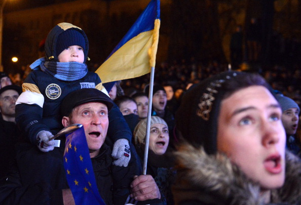 Lviv has been one of main centres for protests against Ukraine's President Viktor Yanukovych ©AFP/Getty Images