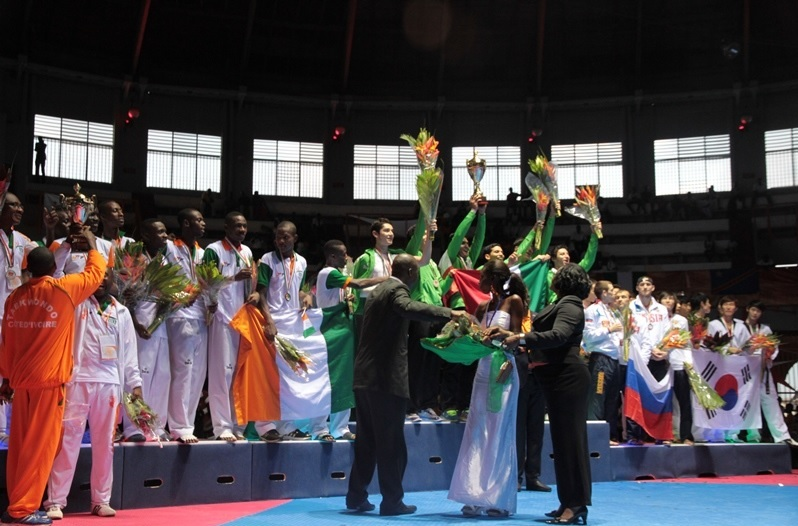 Mexico and South Korea have won the men's and women's titles at the 2013 World Cup Team Championships in Abidjan ©WTF