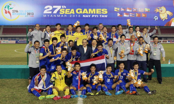 Myanmar has recently successfully held the SEA Games ©AFP/Getty Images